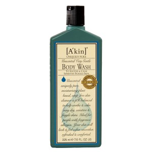 A'kin Very Gentle Unscented Body Wash