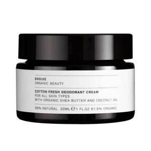Evolve natuurlijke deodorantcrème