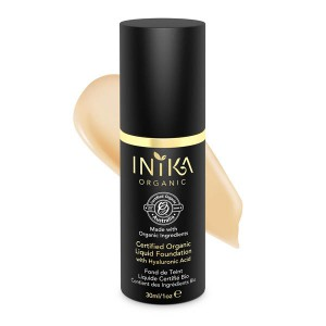 INIKA Certified Organic Liquid Foundation - Beige