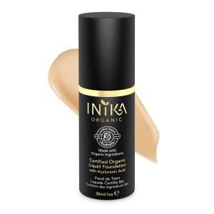INIKA Certified Organic Liquid Foundation - Honey