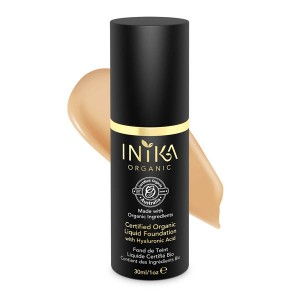 INIKA Certified Organic Liquid Foundation - Tan