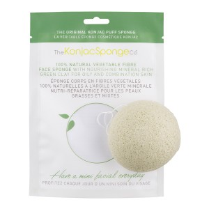 Konjac Sponge - Green Clay