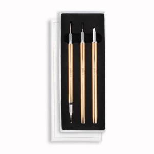 Nagel art pennen 3 delig