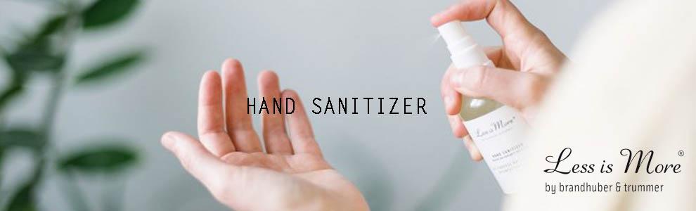 Natuurlijke hand sanitizer