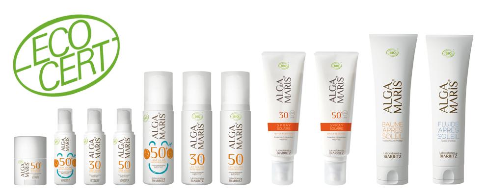 Natuurlijke zonnebrand producten van Alga Maris