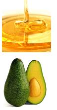 DIY avocado en honing gezichts masker